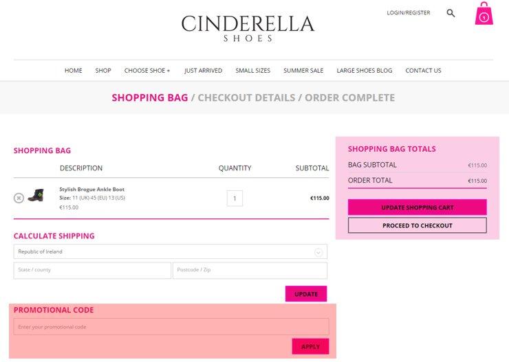 redeeming cinderellashoes.ie voucher-code