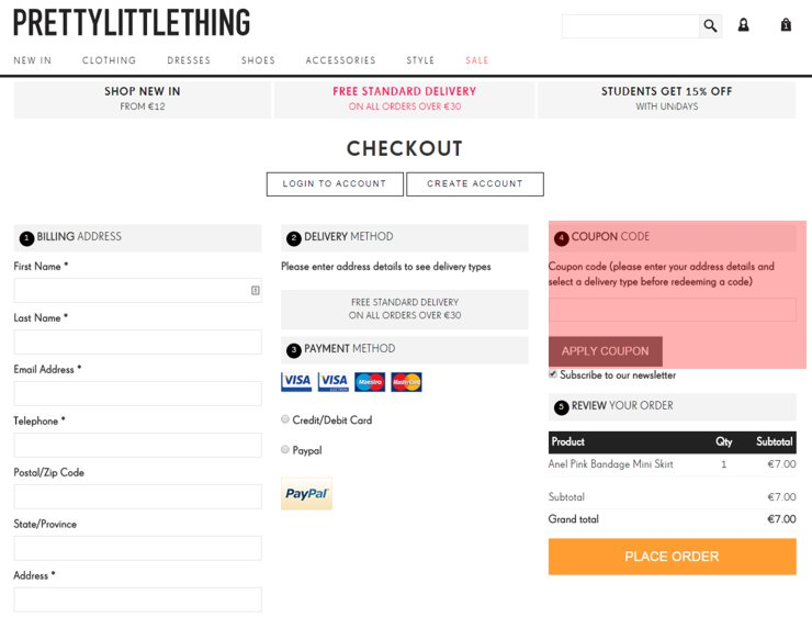 redeeming prettylittlething.com voucher-code