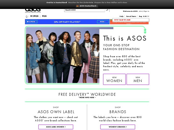 Complete list of all ASOS Discount Codes for December guaranteed! Grab 10% off for Students at ASOS, Premier Unlimited Next-Day or Nominated-Day delivery for just £ for 12 months with this ASOS Voucher Code, Up to 50% off Gifting at ASOS.