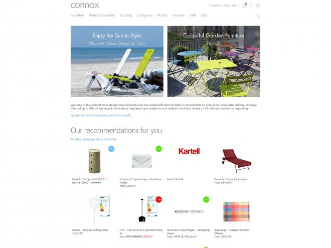 Connox Interior Design Voucher