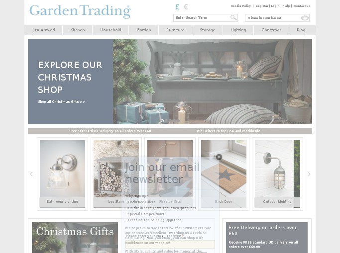 garden trading voucher vouchercodes for discount. Black Bedroom Furniture Sets. Home Design Ideas
