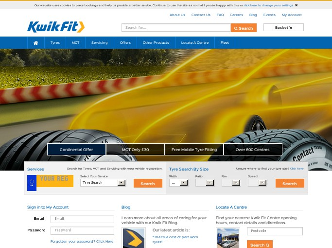 Kwik Fit is the leading fast-fit specialists in the United Kingdom on exhausts, car testing, tyres, batteries, and brakes. We run Kwik Fit offer codes every day so that we can m Kwik Fit is the.