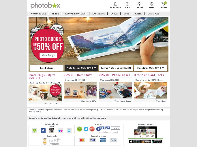 Subscribe to the PhotoBox newsletter to get the lowdown on current offers galore from the printing experts! FAQs Does PhotoBox offer free delivery? Not currently, but keep checking vouchercloud to see if we have any delivery offers for you! Does PhotoBox offer student discount? This isn't currently available but we'll let you know if anything changes.