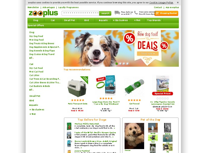Zooplus coupons discounts
